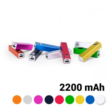 Power Bank 2200 mAh USB 144743 - Żółty
