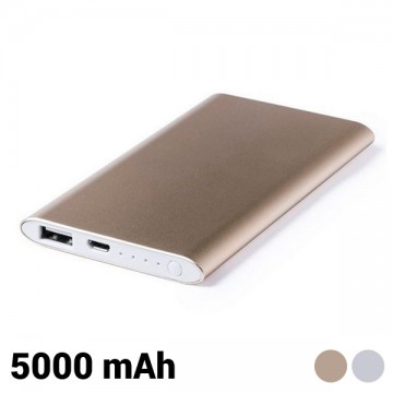 Power Bank 5000 mAh 144960 - Srebrny