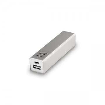 Power Bank 2200 mAh USB 144743 - Srebrny
