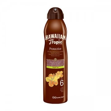 Sun Screen Spray Argan Oil Hawaiian Tropic - Spf 6 - 177 ml